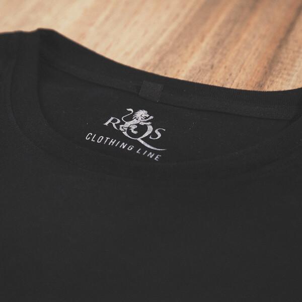 0c4c1edda0 Organic Black T-Shirt With RQS Logo, Available Now RQS Merchandise ...