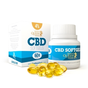 CBD Oil Softgel Capsules 4%