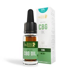 2.5% CBG & 2.5% CBD Oil