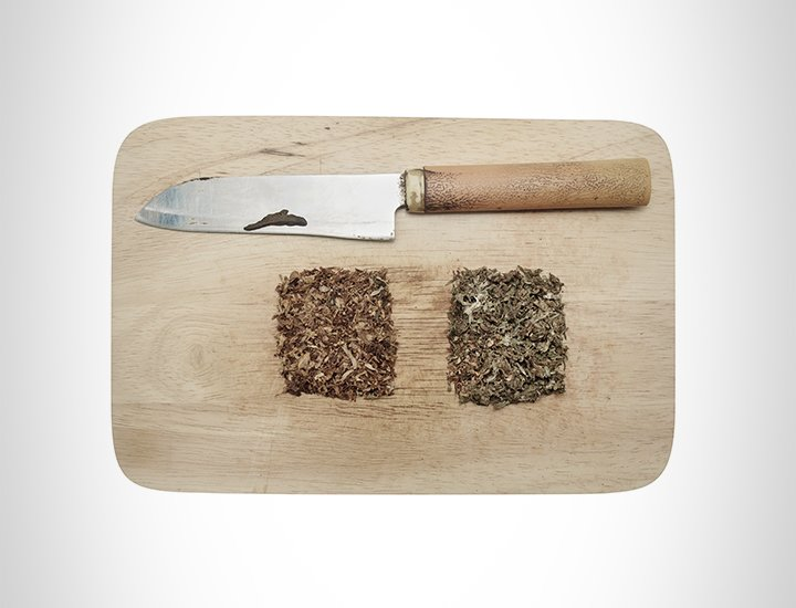Knife and Chopping Board