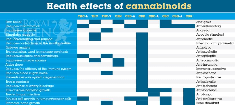 Health effects of CBD