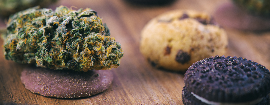 homemade Cannabis cookies