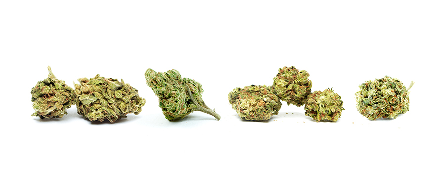 Cannabis Buds Mixing And Matching