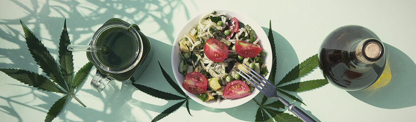 Cannabis Salads