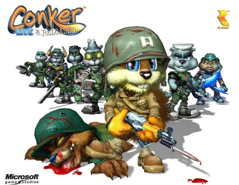Conker Live and Reloaded cannabis game