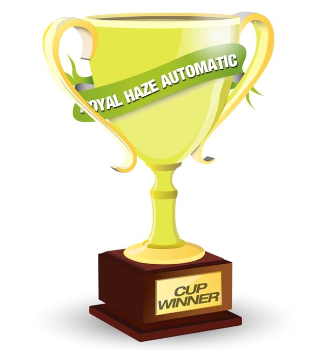 Royal Queen Seeds Royal Haze Automatic Cannabis Cup Winner