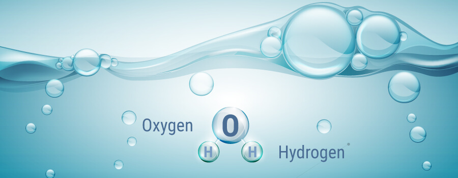 Oxygen and Hidrogen Dissolved Water