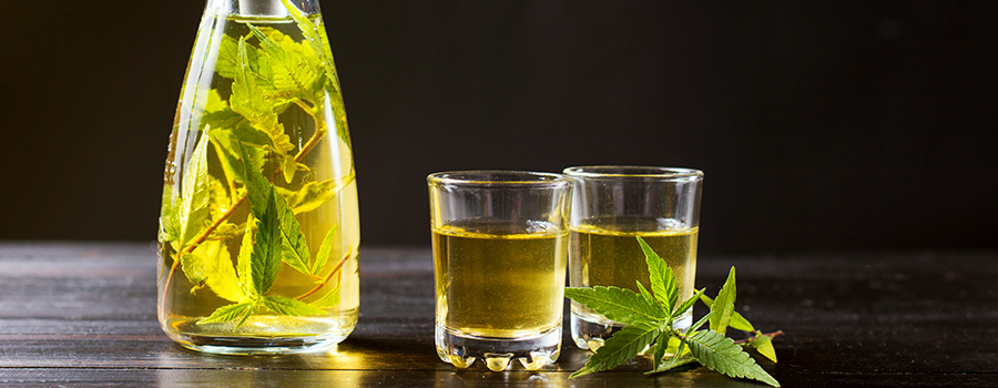 Cannabis Infused In Alcohol
