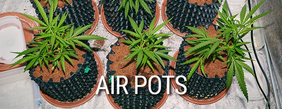 Air Pots Cannabis Cultivation