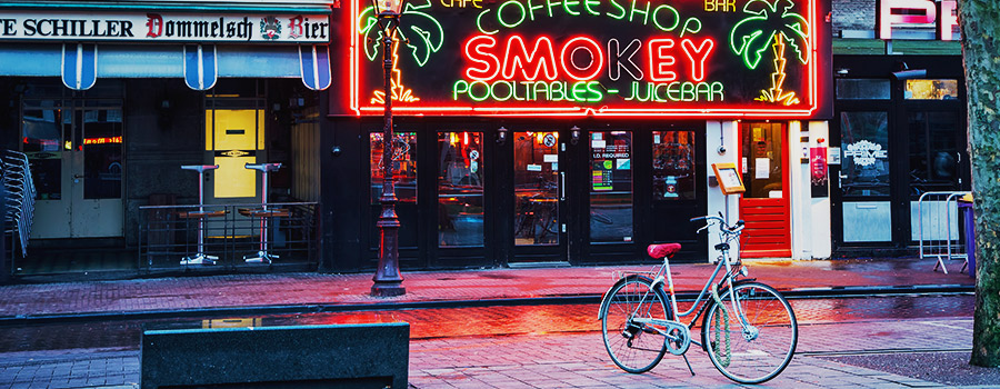Amsterdam The Netherlands Coffee Shops
