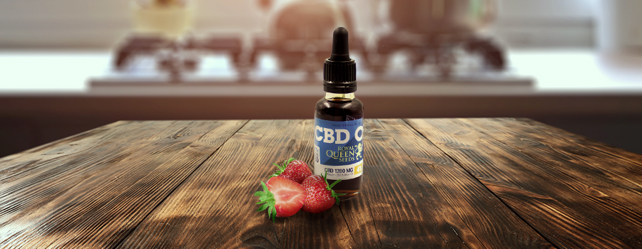 Strawberry recipe CBD Oil Royal Queen Seeds