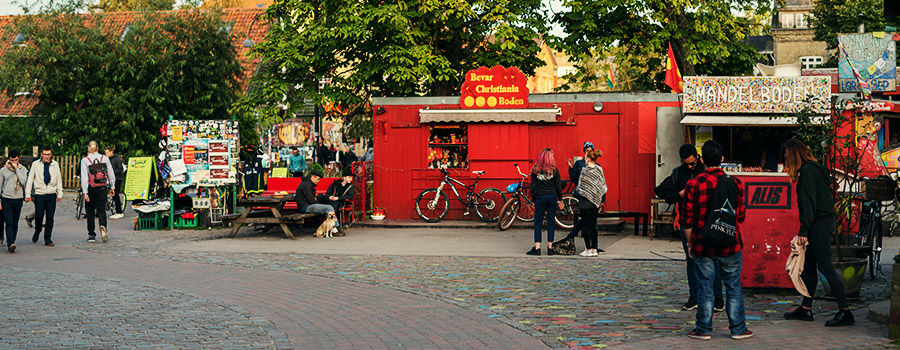 Christiania Denmark Cannabis Freetown