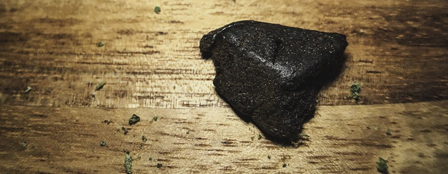 Hashish from Cannabis
