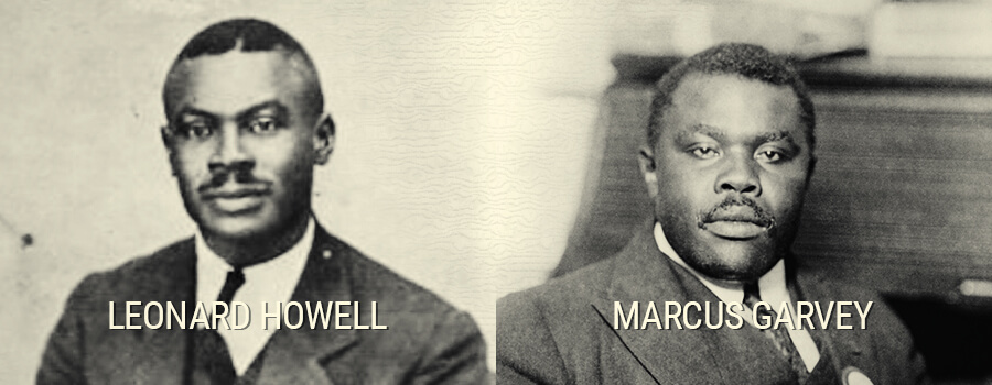 Leonard Howell and Marcus Garvey