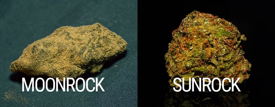 Moonrocks Sunrocks Cannabis Dabbing
