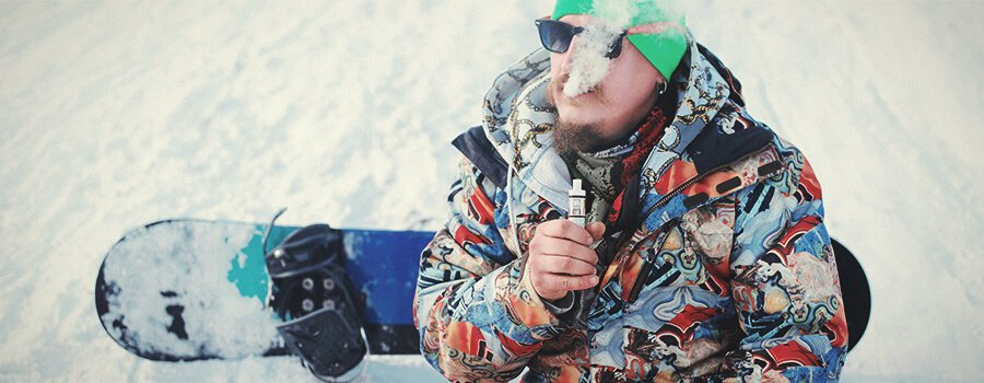 Snowboard and Cannabis