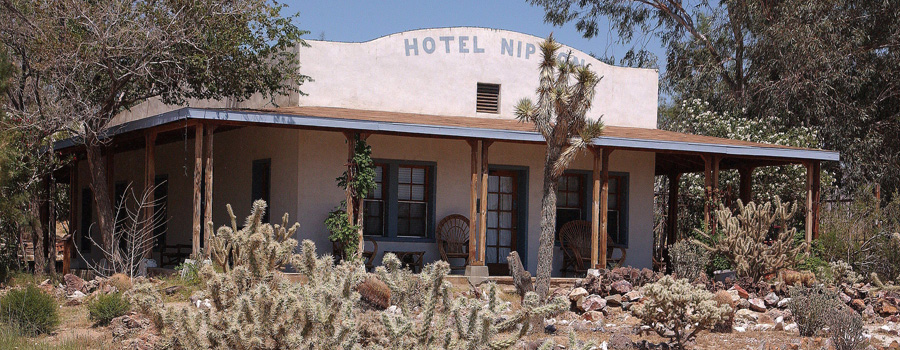 Nipton Hotel California canna tourism