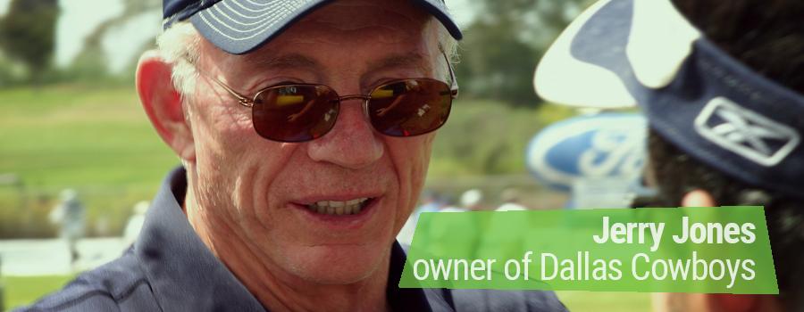 Jerry Jones Owner Dallas Cowboys