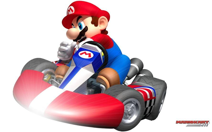 Mario Kart cannabis game