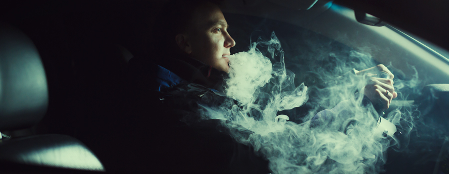 Smoking Cannabis in the car