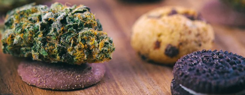 Cannabis-Infused Vegan Chocolate Cookies