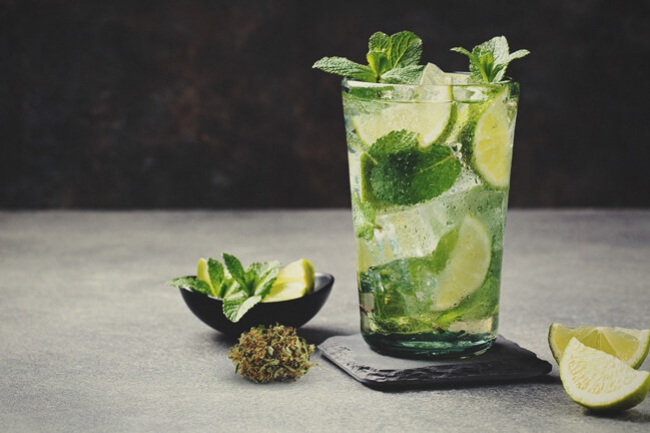 How To Make A Marijuana-Infused Mojito
