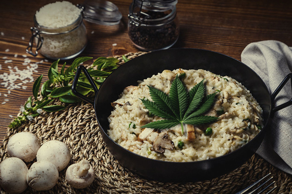 Recipe For Weed-Infused Classic Risotto