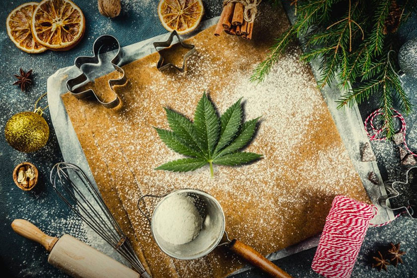 A Dank Recipe For Weed-Infused Gingerbread Cookies