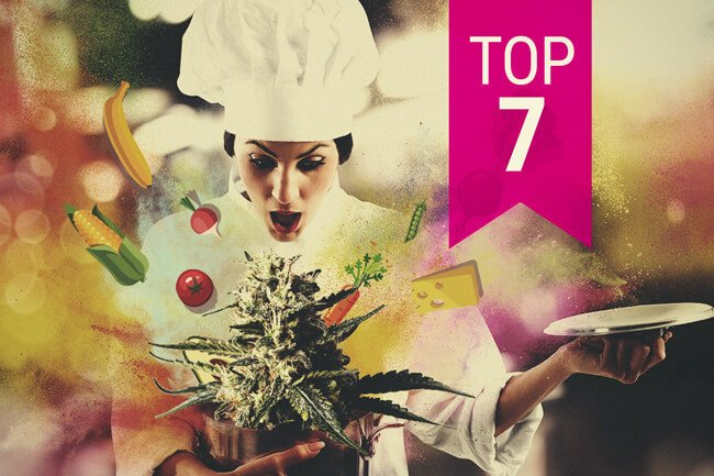 7 Perfect Indica And Sativa Strains For Making Cannabis Edibles Rqs Blog