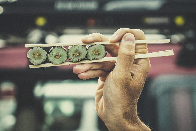 How To Make Cannabis-Infused Sushi