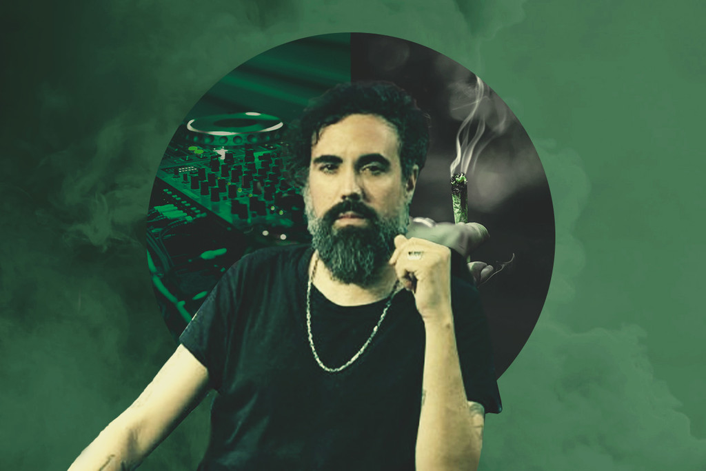 Henry Saiz, Mixing Music And Cannabis