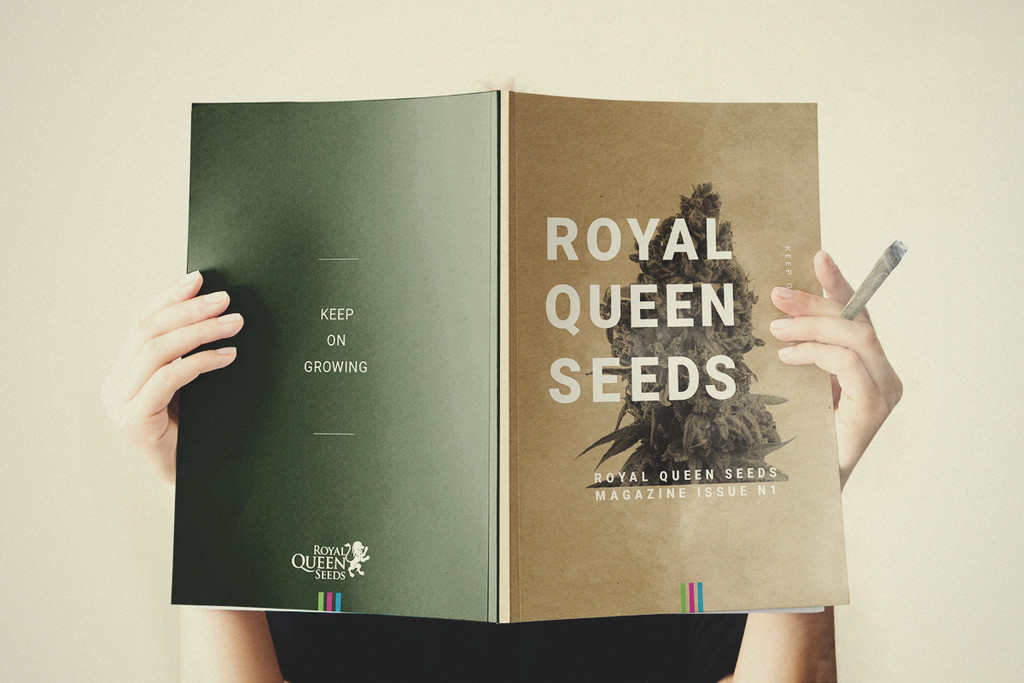The First Edition Of The Royal Queen Seeds Magazine