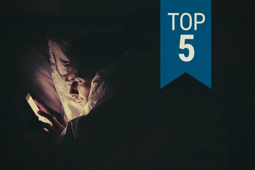 Our Top 5 Cannabis Strains For Insomnia