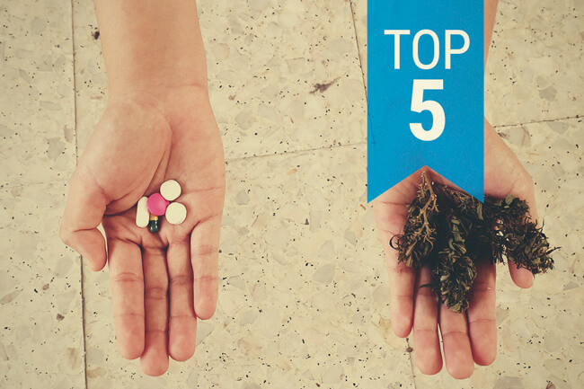 Top 5 Cannabis Strains For Pain Relief