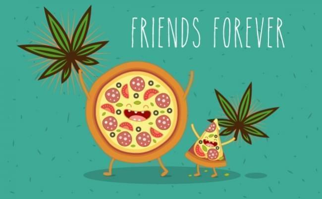 How To Make Cannabis Pizza - a.k.a Happy Pizza!