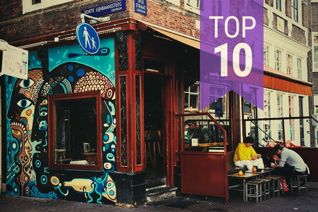 Top 10 Coffees In Amsterdam