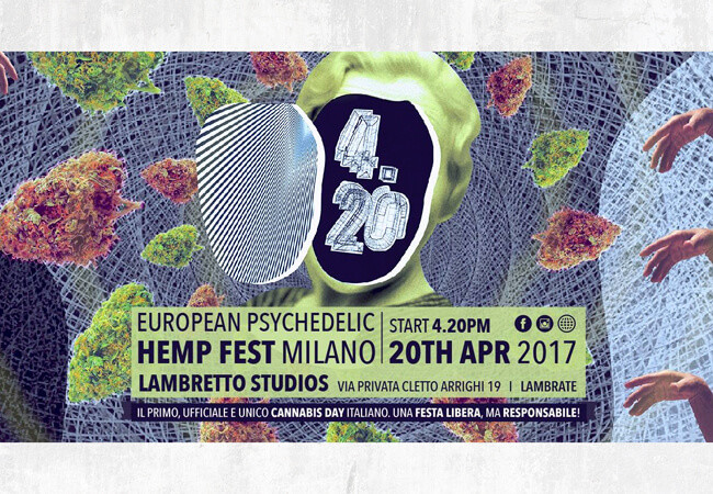 RQS Help Celebrate 420 At 4.20 European Psychedelic Hemp Fest 2017!