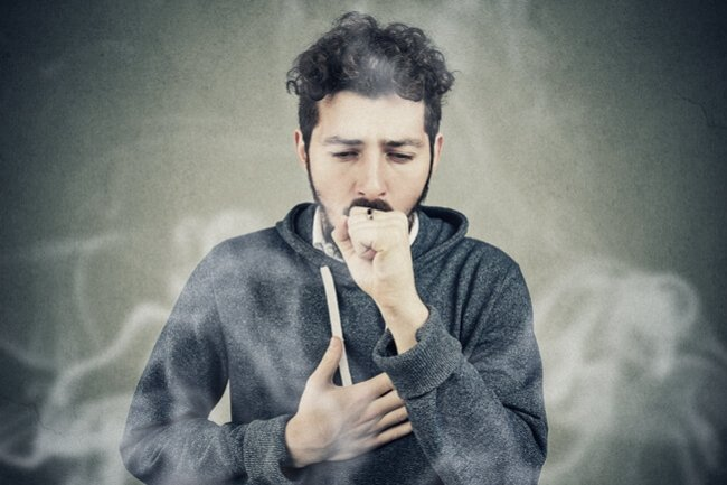 Throat on smoking weed strep Penicillin +